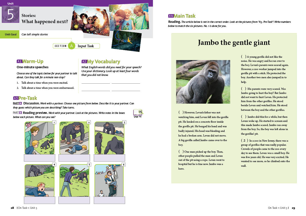Write Five Sentences About Zoo In English